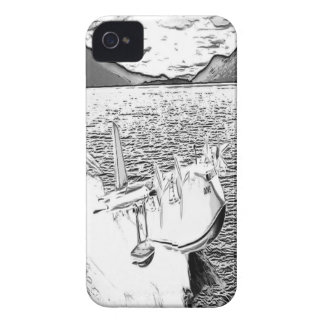 Seaplane Dove 1 iPhone 4 Covers
