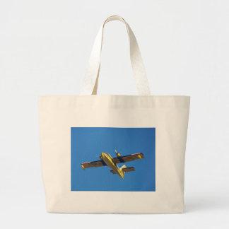 Seaplane. Large Tote Bag