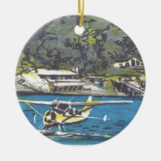 Seaplane to San Juan Is. Christmas Ornament