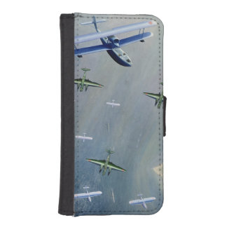 Seaplanes, 1933 iPhone 5 wallet cases