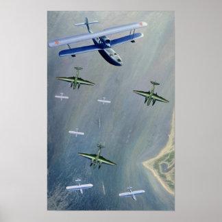 Seaplanes, 1933 poster