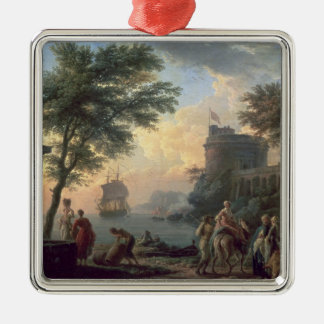 Seaport, 1763 christmas ornament