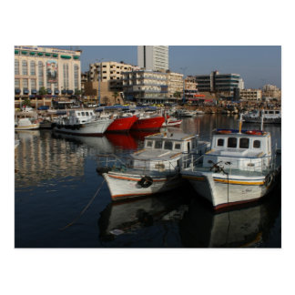 Seaport of Tartus, Syria Postcard