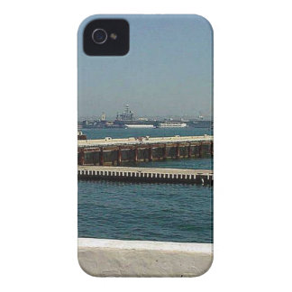 Seaport Village Aircraft Carriers Pier Water Bay D iPhone 4 Cases