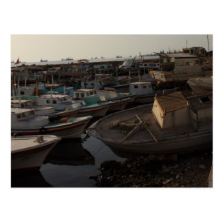 Seaport with fishing boats - Tartus, Syria Postcard