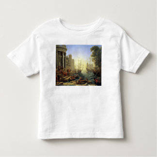 Seaport with the Embarkation of St. Ursula Toddler T-Shirt