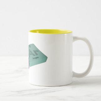Sear as Se Selenium and Ar Argon Coffee Mugs