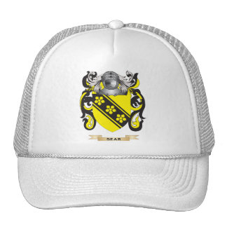 Sear Coat of Arms (Family Crest) Mesh Hats