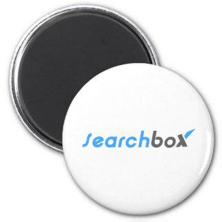 Search Box 6 Cm Round Magnet