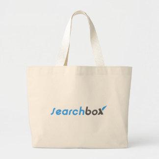 Search Box Jumbo Tote Bag