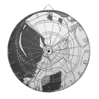 Search for the Milky Way Dartboard
