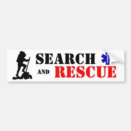 Search & Rescue bumper sticker