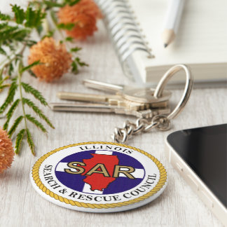 Search & Rescue image for Button-Key-Ring Key Ring