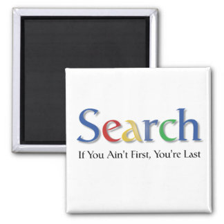 Search Square Magnet