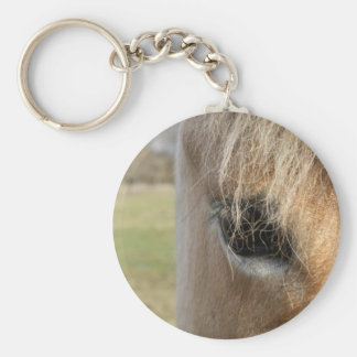 Searching Basic Round Button Key Ring