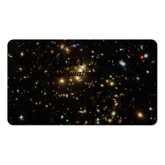 Searching for Dark Matter in a Galaxy Cluster Pack Of Standard Business Cards