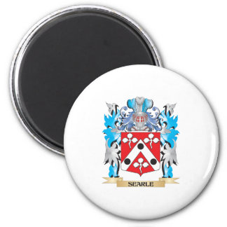 Searle Coat of Arms - Family Crest 6 Cm Round Magnet