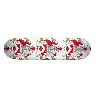 Sears Family Crest Custom Skateboard