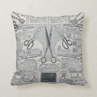 Sear's Magazine Scissors Advertisement Cushion