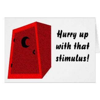 Sears Stimulus Greeting Card