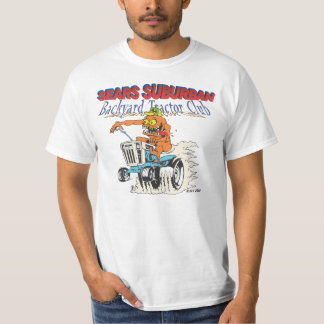 Sears Suburban Backyard Tractor Club T-shirt
