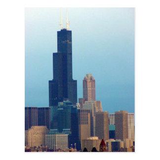 Sears Tower 3 Postcard