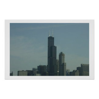 sears tower chicago posters