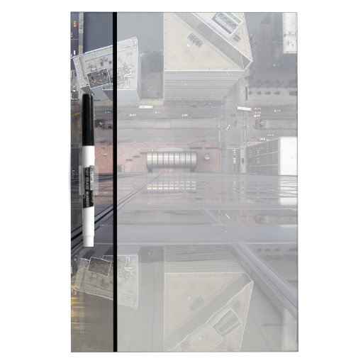 Sears Tower Looking Down Dry-Erase Boards