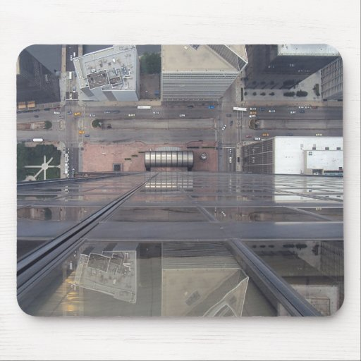 Sears Tower Looking Down Mousepads