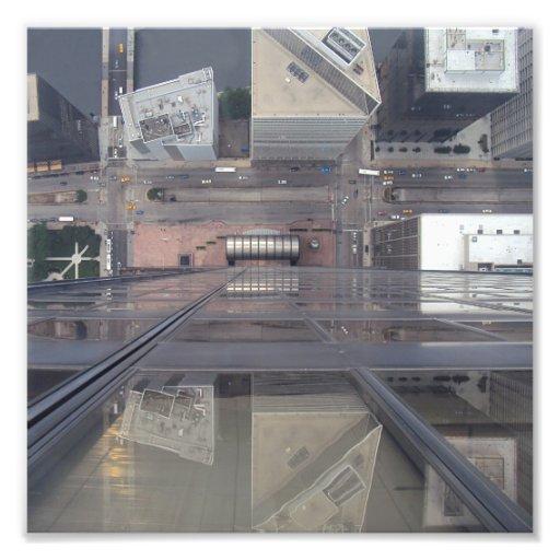 Sears Tower Looking Down Photo Art
