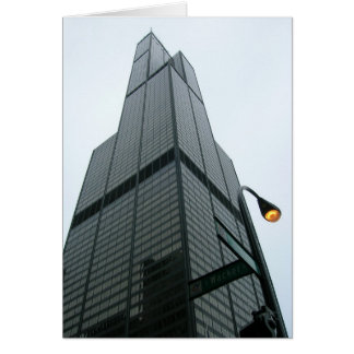 Sears Tower Notecard Note Card