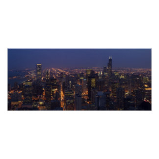 Sears Tower Panoramic Poster