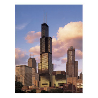 Sears Tower Postcard - Willis Tower - Chicago