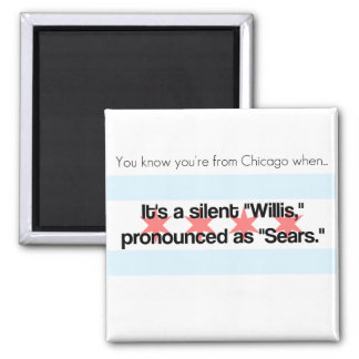 Sears Tower Square Magnet
