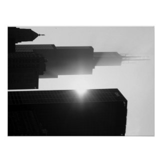 Sears/Willis Tower, Chicago Poster