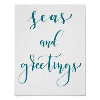 Seas and Greetings poster