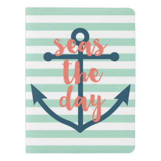 """seas the day"" extra large moleskine notebook"