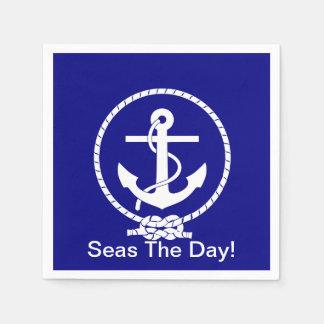Seas the day! Paper napkins