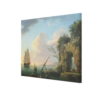 Seascape, 1748 canvas print