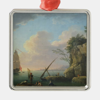 Seascape, 1748 christmas ornament