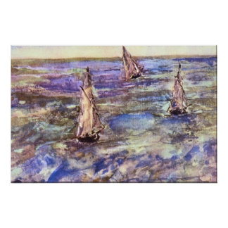 Seascape, 1873 by Edouard Manet Poster