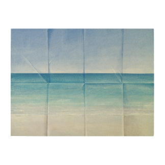 Seascape 1984 wood canvases
