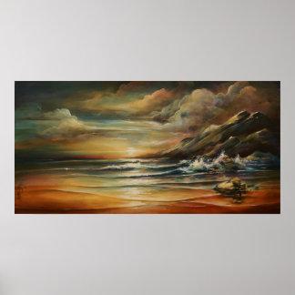 seascape 3 print