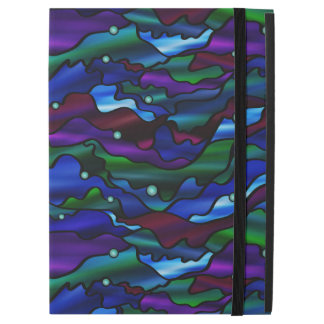 Seascape Abstract Stained Glass Design