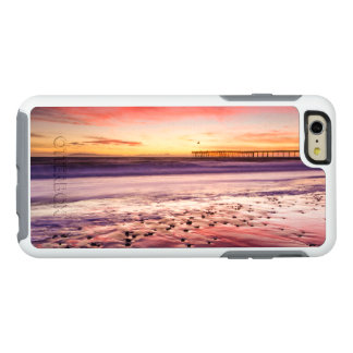 Seascape and pier at sunset, CA OtterBox iPhone 6/6s Plus Case