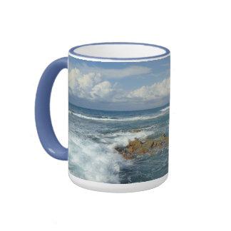 Seascape at Labadee Ringer Mug