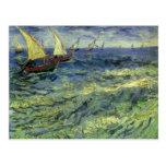 Seascape at Saintes Maries by Vincent van Gogh