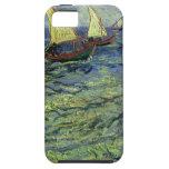 Seascape at Saintes Maries by Vincent van Gogh iPhone 5 Cases