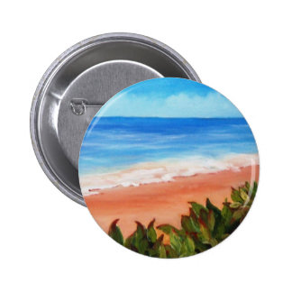 Seascape Pinback Button