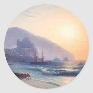 Seascape by Ivan Aivazovsky Stickers